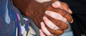 Interracial couple in Washington DC